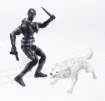 G.I. JOE 3.75 Movie Figure Ultimate Snake Eyes A2276