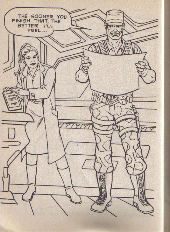 GI Joe Big Coloring Book (1989 Golden) – Joe A Day
