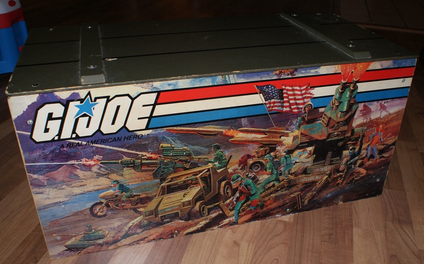 Gi Joe Toybox 1983