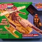 BTR-Ticles: Locust