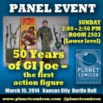 GI Joe 50th Panel