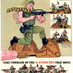 Mattel Heroes in Action Comic Ad