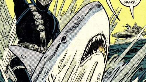 Snake Eyes vs. Shark