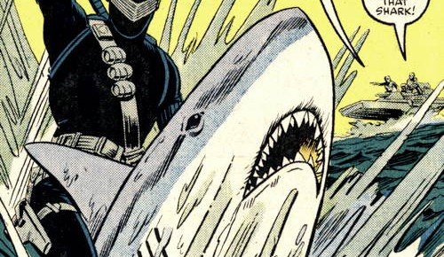 Snake Eyes vs. Shark