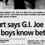 Breaking News: GI Joe is a Doll!