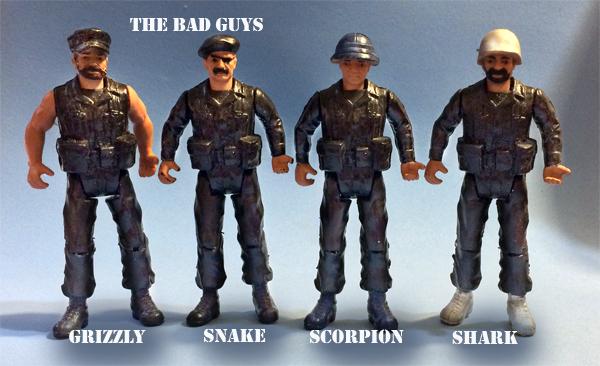 the bad guys and bad guys
